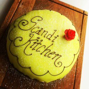 Prinsesstarta (Princess Cake), gbbo, european cakes, swedish cakes, Princess torte