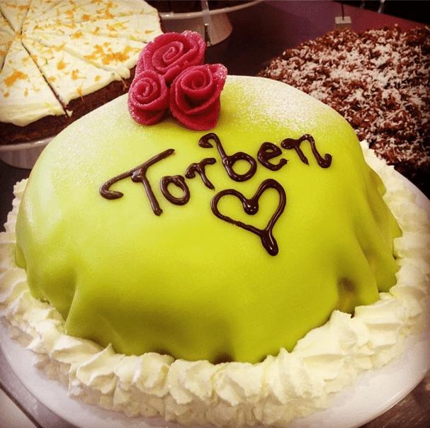 Prinsesstårta (Princess Cake)