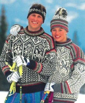 norwegian norsk strikkegensere
