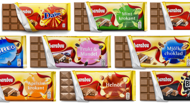 Marabou chocolate bars