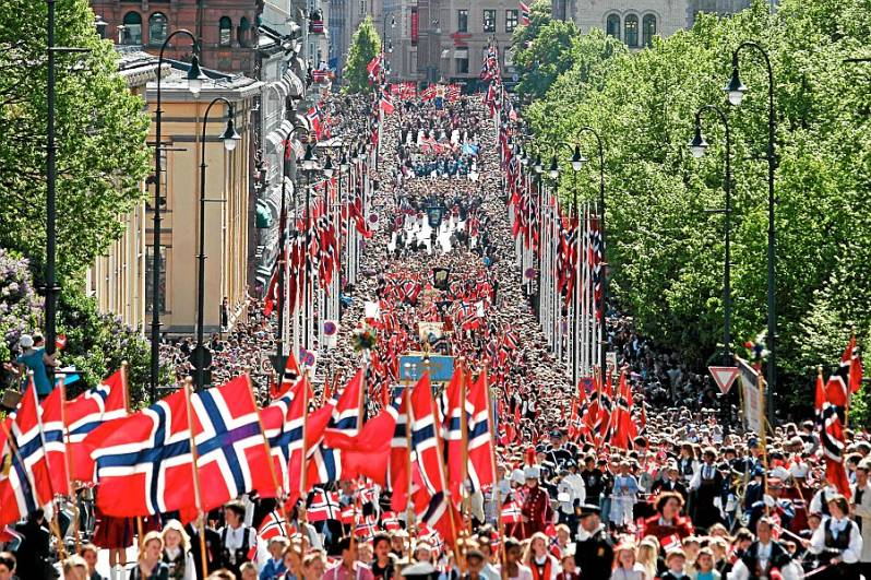 17mai parade norway