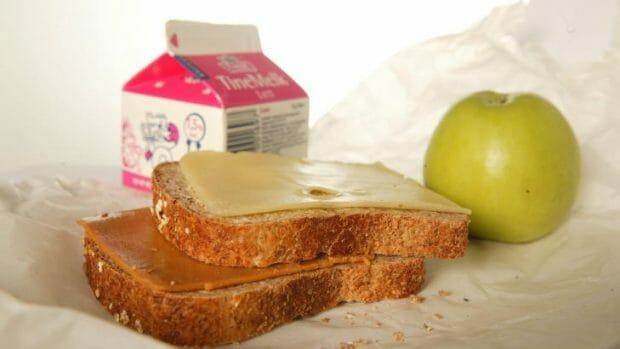 Typisk norsk matpakke