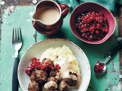 Meatballs - Lingonberry Jam