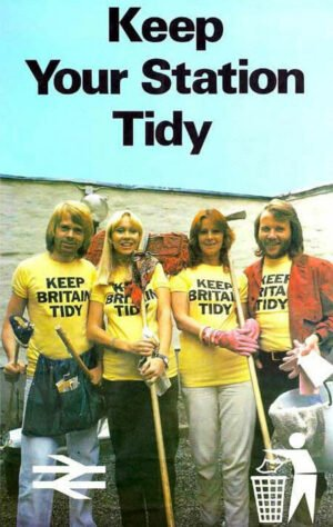 Abba keep your station tidy