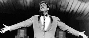 Domenico Modugno Al Festival di Sanremo, nel 1959 (La presse)