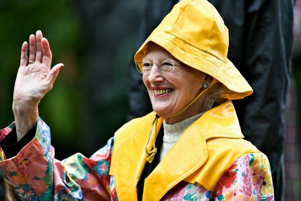 The Danish Queen Rocking her Sydvest