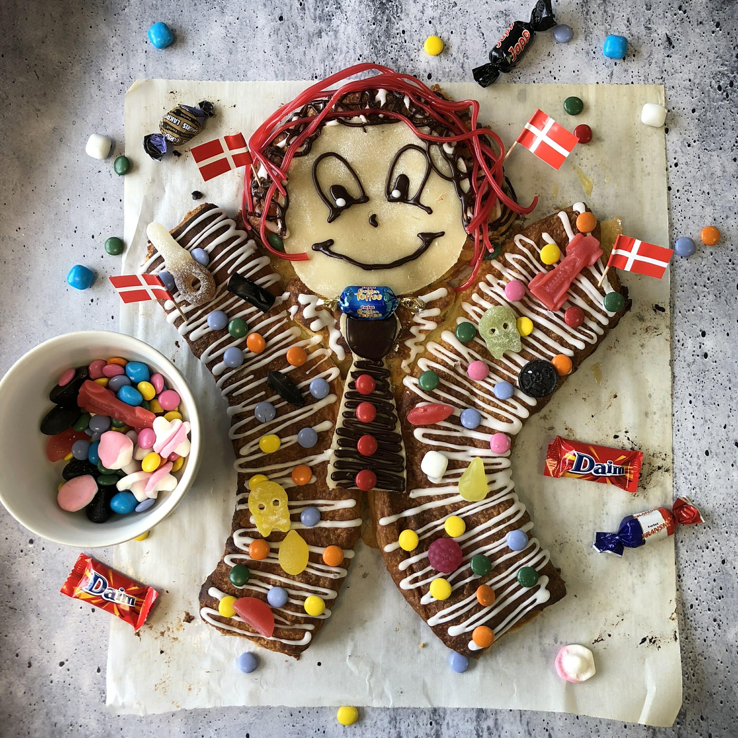 Cool Recipe Kagemand Danish Kids Birthday Cake Man Scandikitchen Funny Birthday Cards Online Alyptdamsfinfo