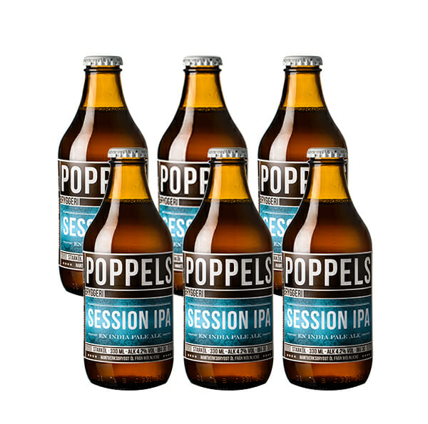 Poppels Session IPA 330ml 4.2% 6-pack